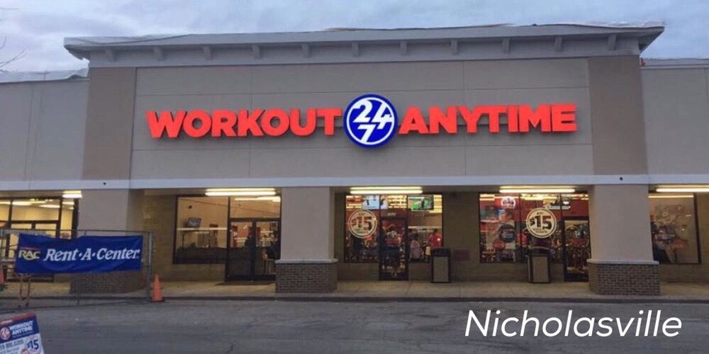 Workout Anytime - Nicholasville: 1035 Main St, Nicholasville, KY