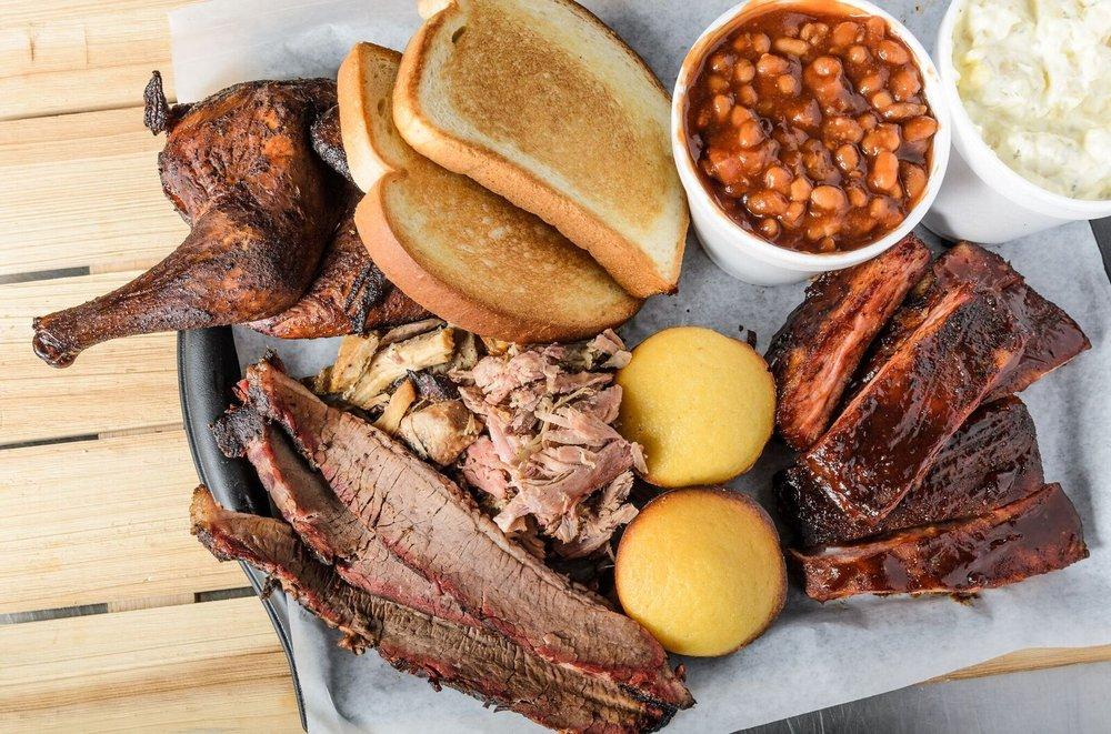 Jim's Smokehouse: 918 Main St, Baker, LA