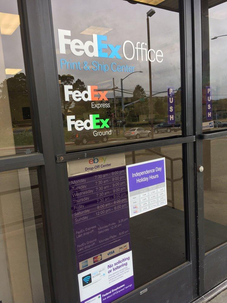 FedEx Office Print & Ship Center: 2021 5th St, Eureka, CA