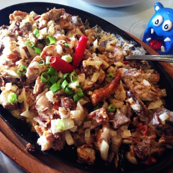 Photo Of Patio Filipino   San Bruno, CA, United States. Sizzling Pork Sisig