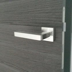 Photo Of Mid Modern Interior Doors Richmond Bc Canada Stainless Steel