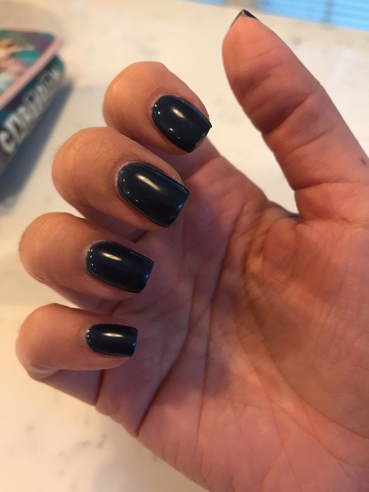 weirdly shaped, cracked and peeling GEL manicure - Yelp