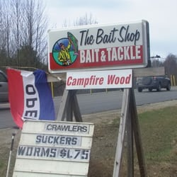 The bait shop tackle 4 pine knoll rt for Fishing tackle store near me