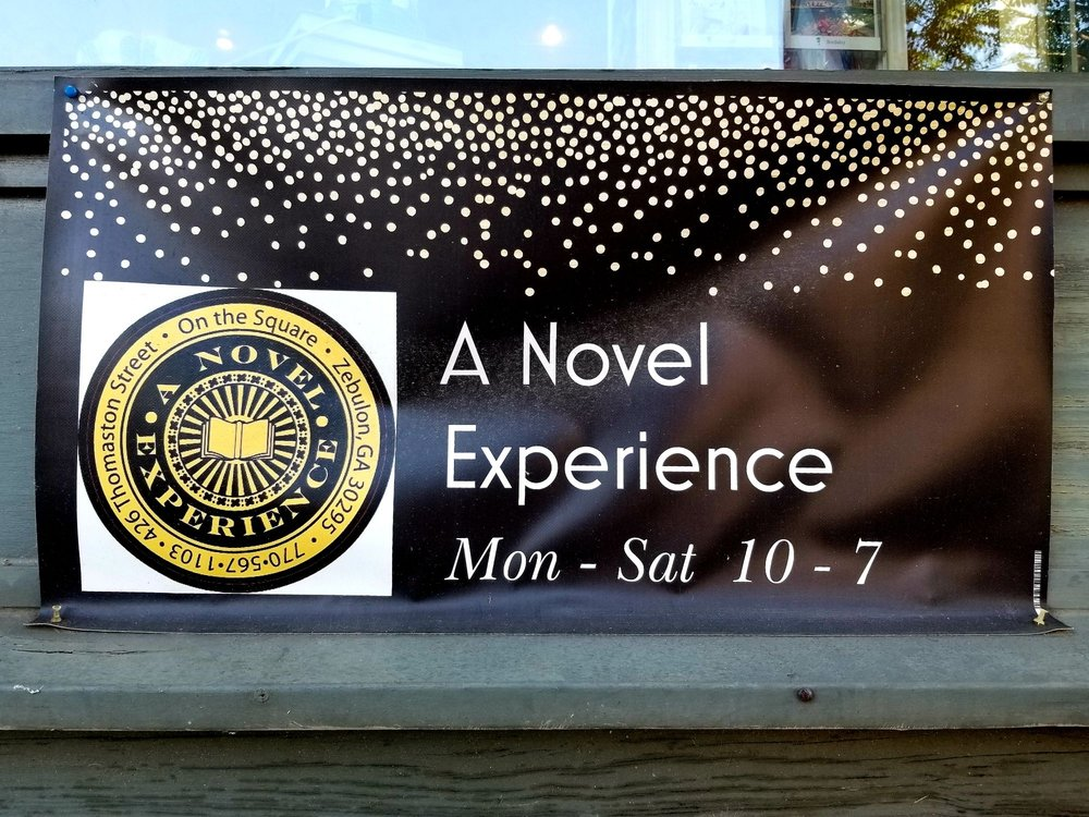 A Novel Experience Bookstore: 426 Thomaston St, Zebulon, GA