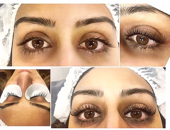 Our Lash Lift And Tint Treatment Looks Gorgeous On Long Natural