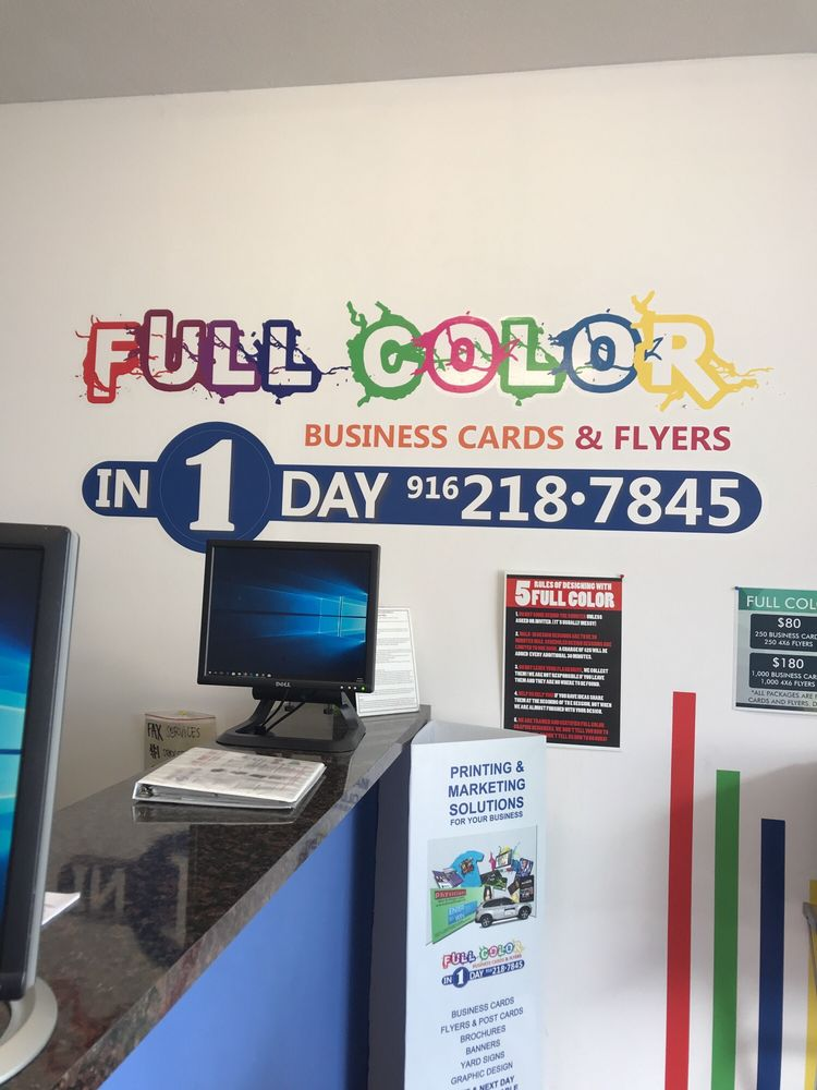 Photos for Full Color Business Cards and Flyers - Yelp