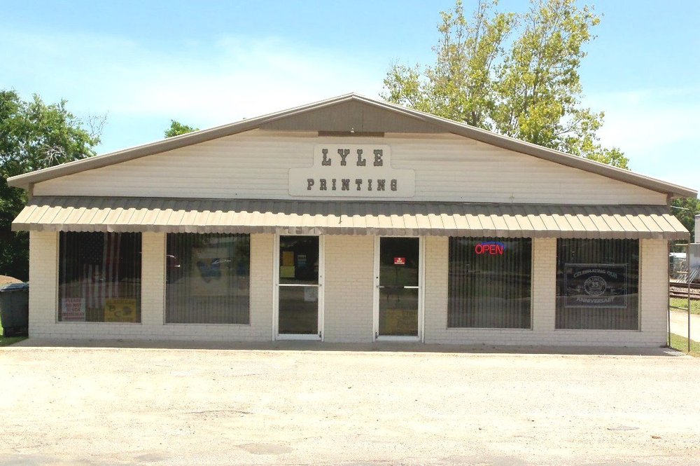 Lyle Printing: 2100 6th St, Bay City, TX