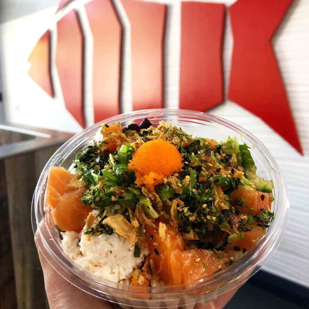 Food from Poke Dot