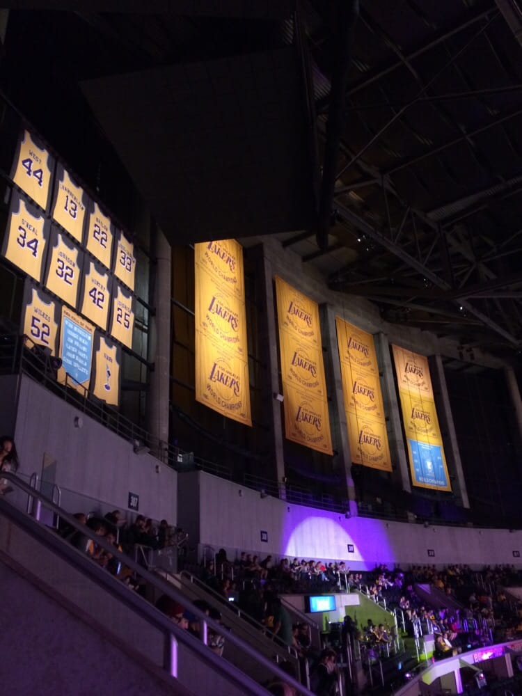 40bac77c0 Championship banners and retired jerseys! Epic. - Yelp