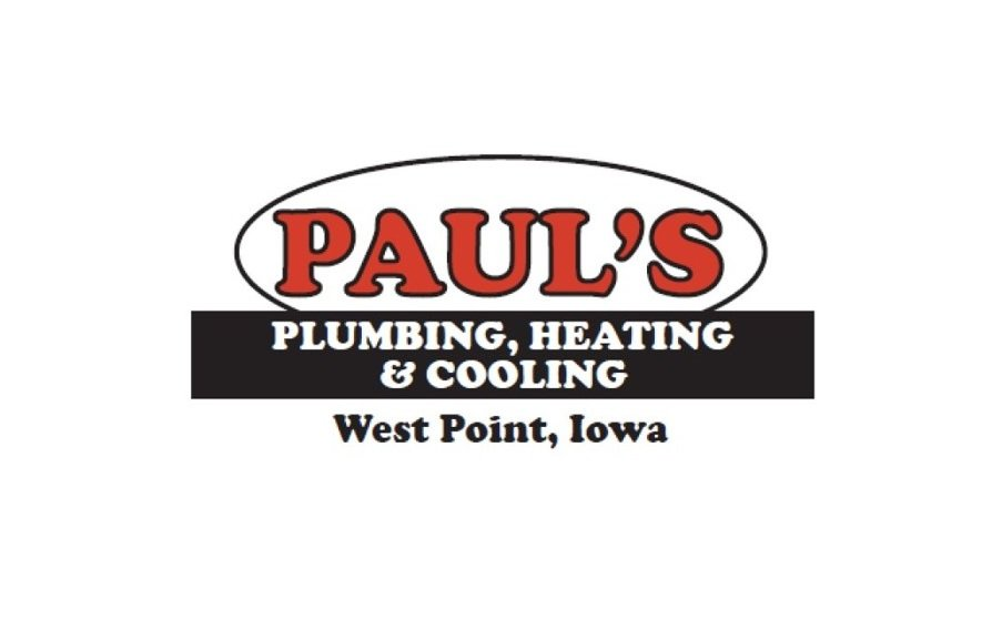 Paul's Plumbing, Heating, & Cooling: 410 Ave E, West Point, IA
