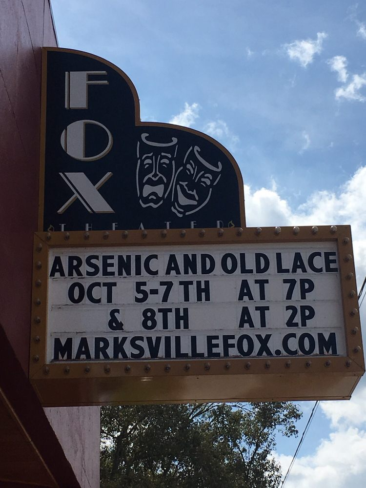 Fox Performing Arts Center: 111 S Washington St, Marksville, LA