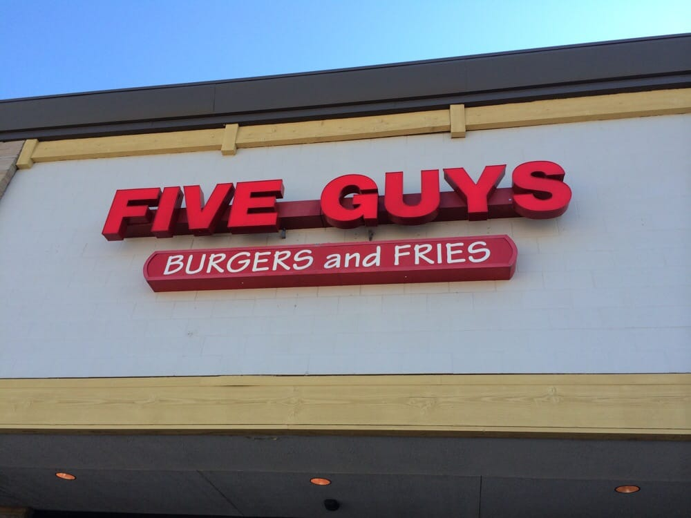 5 guys burgers and fries application