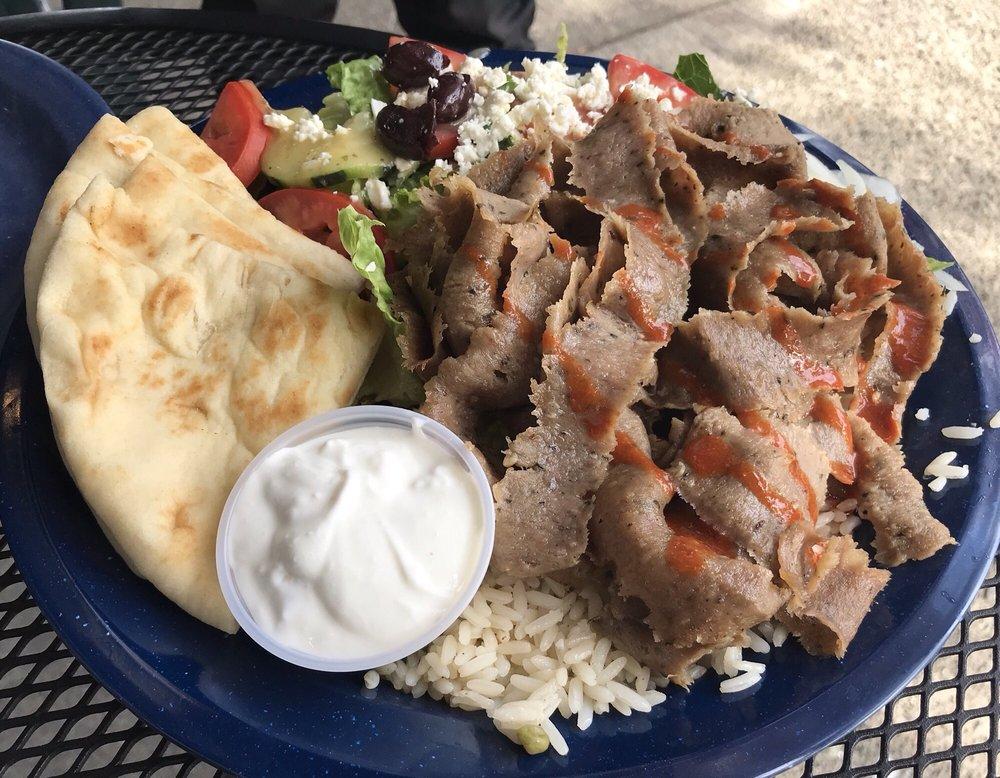 Santorini's Greek Grill: 106 Central Way, Kirkland, WA