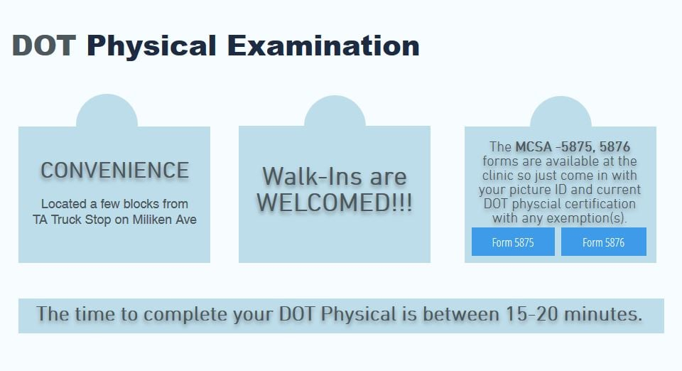 Photos For Dot Physical Examination  Yelp