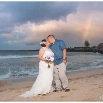 Photo Of Simple Maui Wedding Wailuku Hi United States Ironwoods Beach