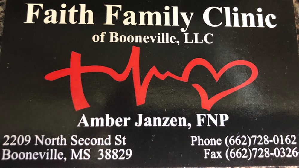 Faith Family Clinic of Booneville: 2209 N 2nd St, Booneville, MS
