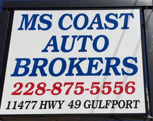 ms coast auto brokers gulfport 9210 highway 49 gulfport ms auto dealers mapquest. Black Bedroom Furniture Sets. Home Design Ideas