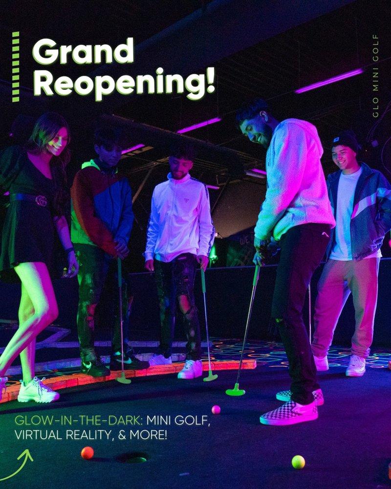 GLO Mini Golf
