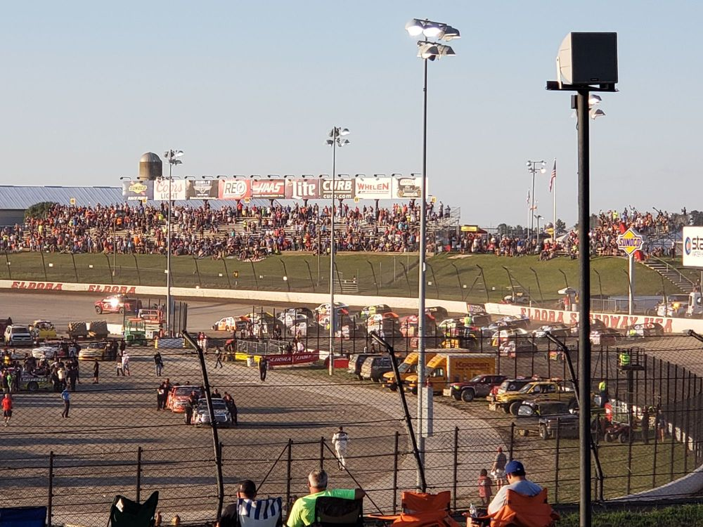Eldora Speedway: 13929 State Rt 118, New Weston, OH