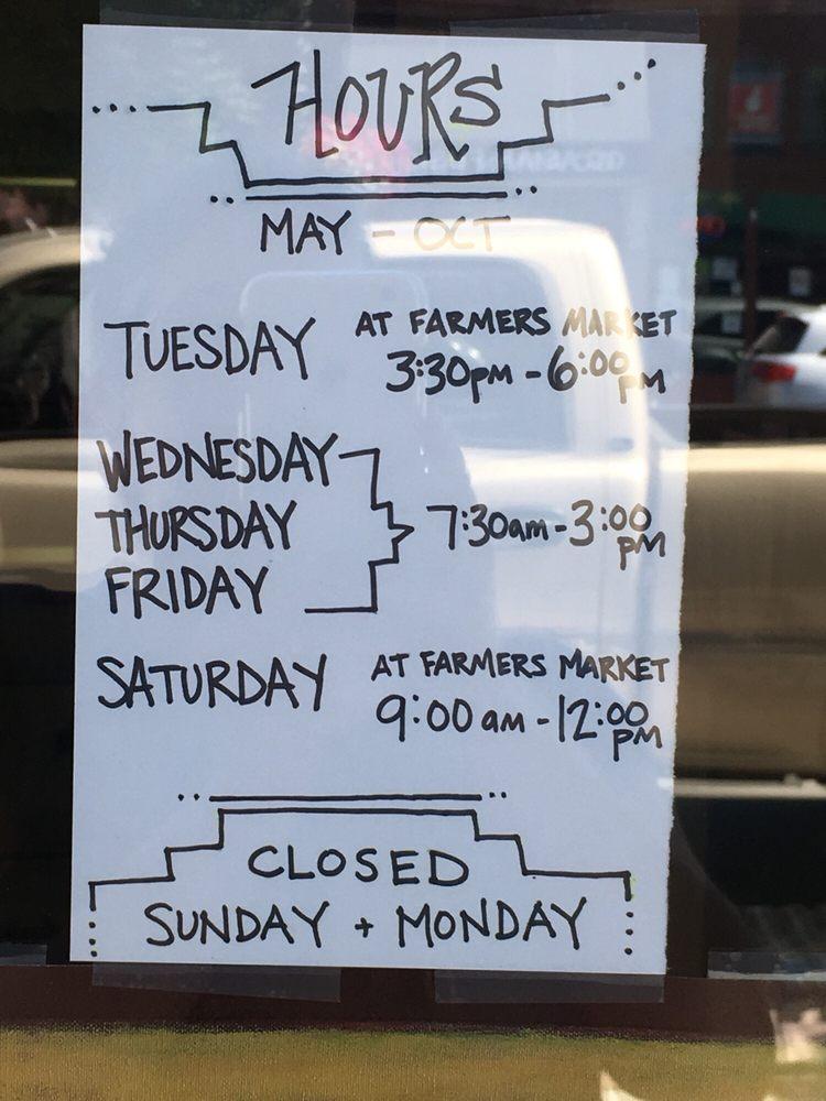Kneads Bakery: 1113 Adams Ave, La Grande, OR