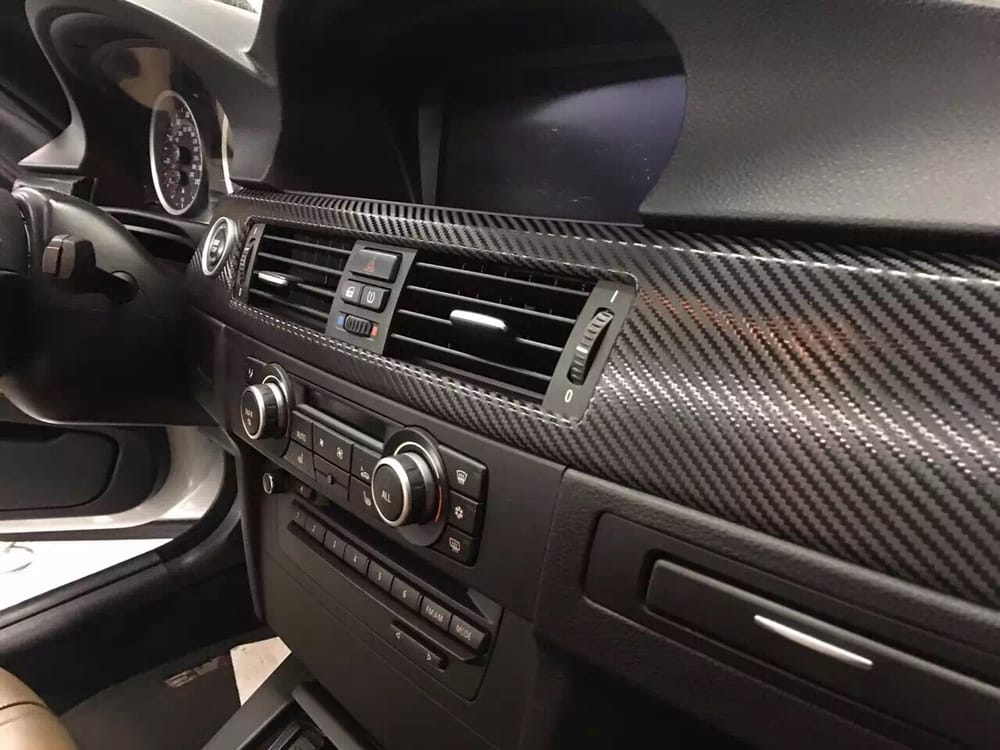 trim photo x youtube carbon wrap with how interior to of vinyl fiber