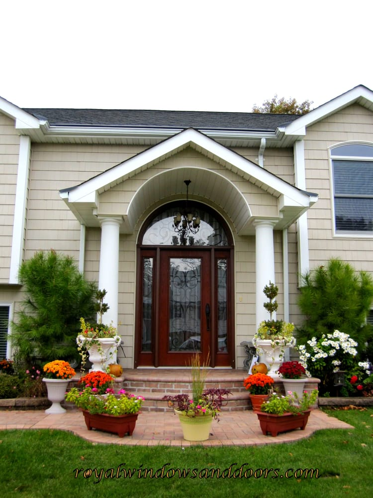 Portico And Entry Door By Royal Windows And Doors Yelp
