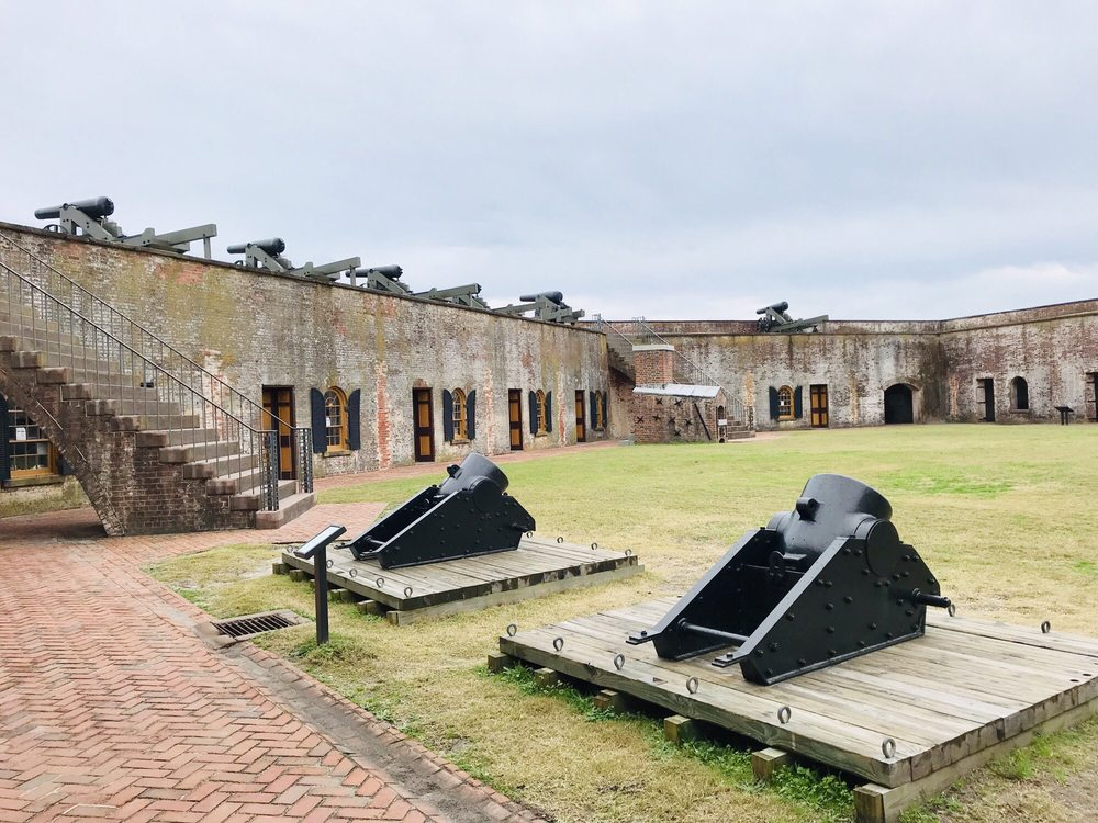Fort Macon State Park: 2300 E Fort Macon Rd, Atlantic Beach, NC