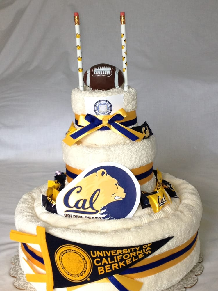The popular Cal Berkeley full size Luxury Towel Cake! - Yelp