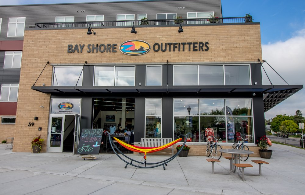 Bay Shore Outfitters: 59 N Madison Ave, Sturgeon Bay, WI