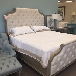Photo Of Stuckey Furniture   Mount Pleasant, SC, United States. Gorgeous  Tufted Bed