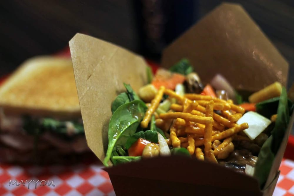 Toasty's Grilled Cheese & Salad Bar: 357 Ouellette Avenue, Windsor, ON