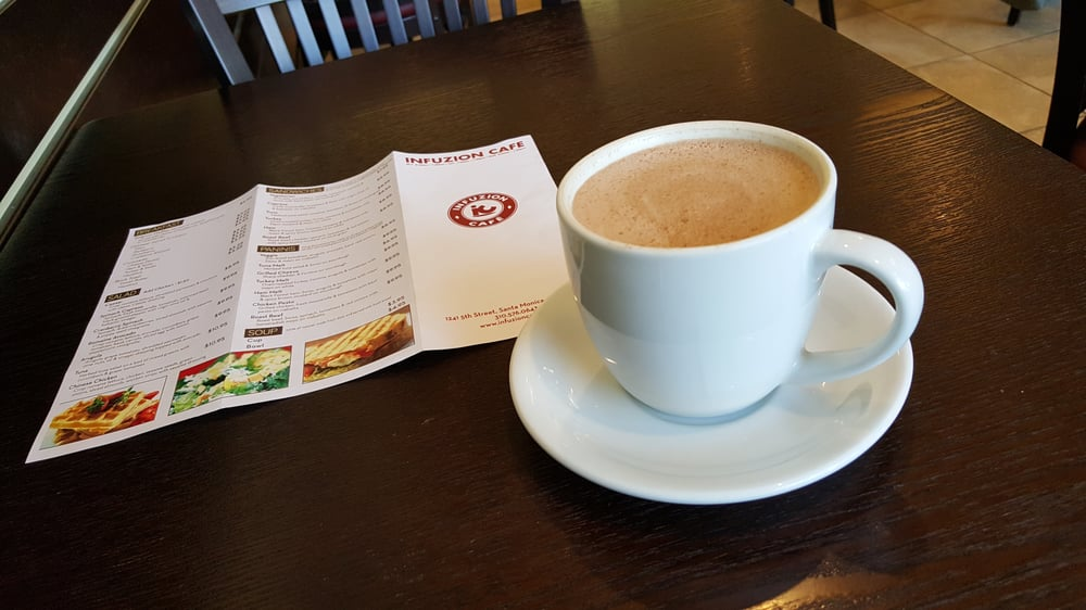 Infuzion Cafe Santa Monica Ca