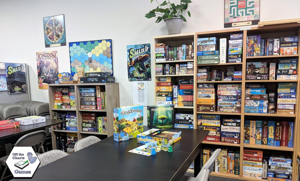 Off The Charts Games: 30 NW 2nd St, Gresham, OR