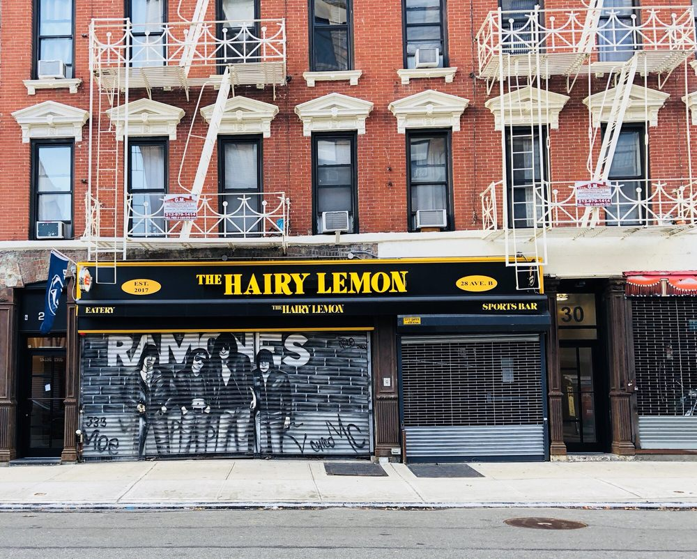 The Hairy Lemon Pub: 28 Avenue B, New York, NY