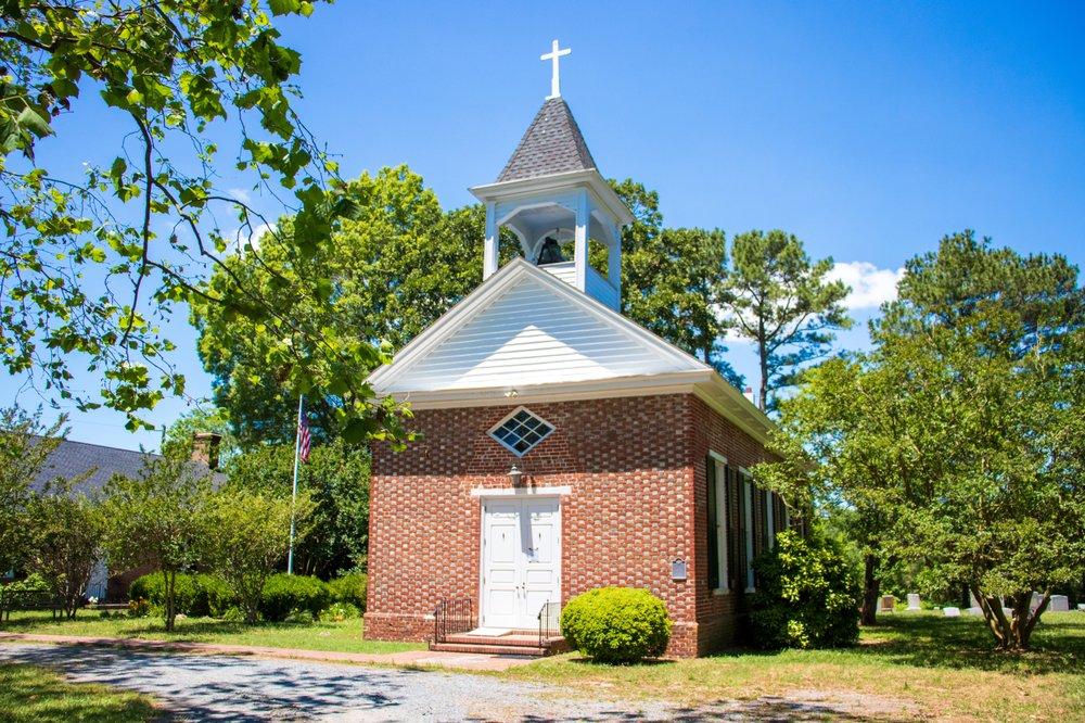 St George's Episcopal Church: 15389 St George's Crl, Pungoteague, VA