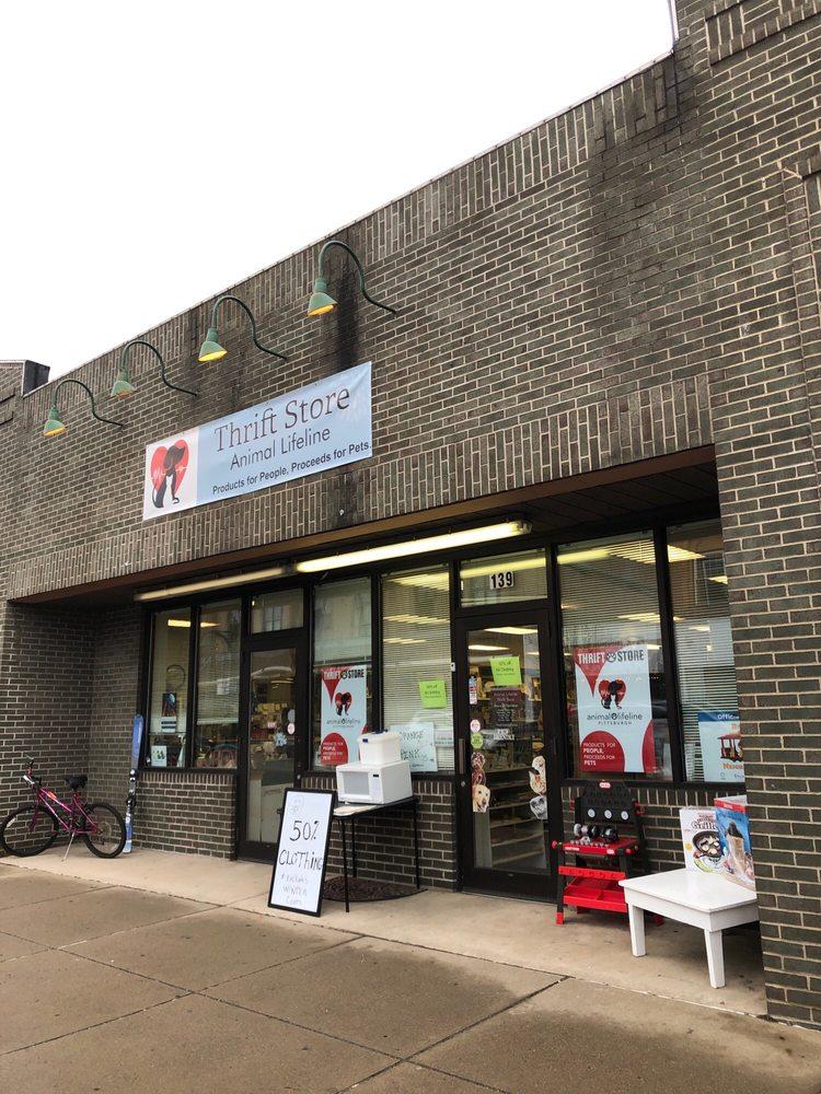 Animal Lifeline Thrift Store: 139 E 8th Ave, Homestead, PA