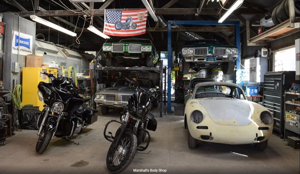 Marshall's Auto Body Shop: 13695 Arnold Dr, Glen Ellen, CA