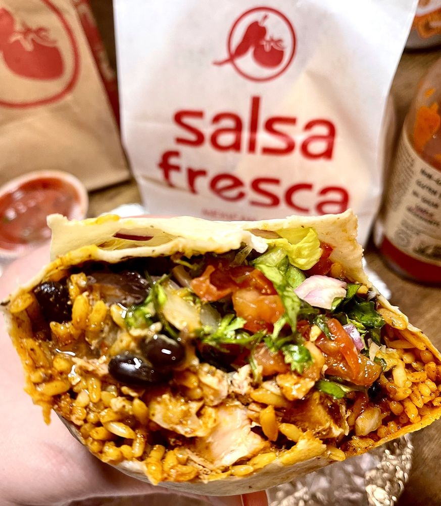 Food from Salsa Fresca Mexican Grill