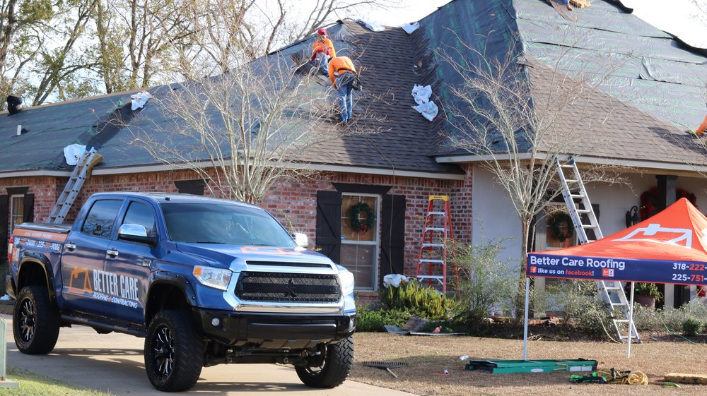 Better Care Roofing & Contracting: 3332 Levin St, Alexandria, LA