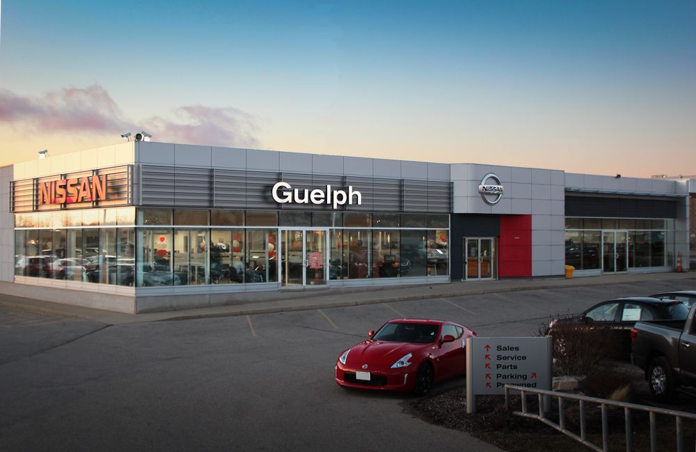 Guelph Auto Mall >> Guelph Nissan Located At 805 Woodlawn Rd Guelph On In