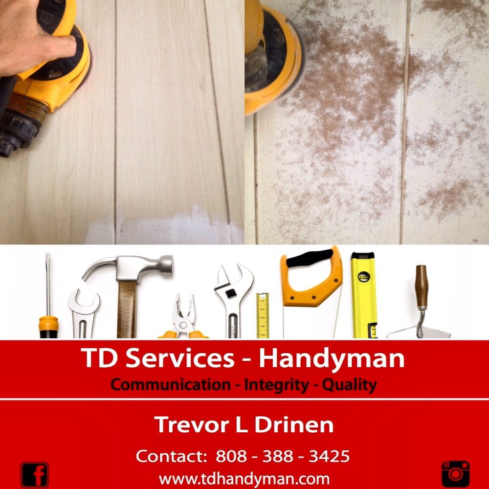 TDServicesHawaii - Home Consulting & Property Restoration