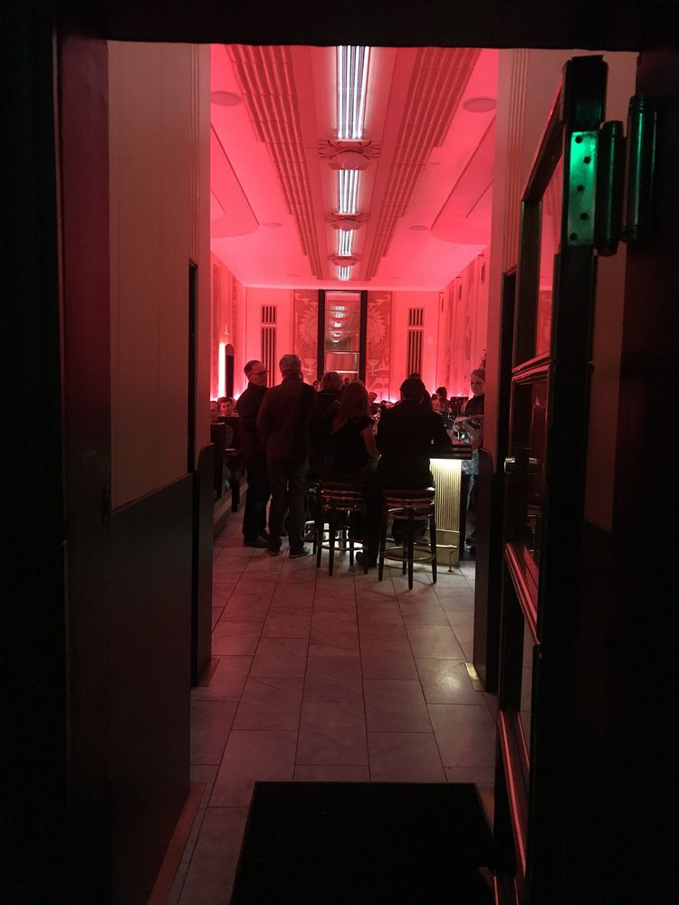 Love the deco interior red lighting cool bar good drinks yelp photo of the cruise room denver co united states love the deco aloadofball Gallery