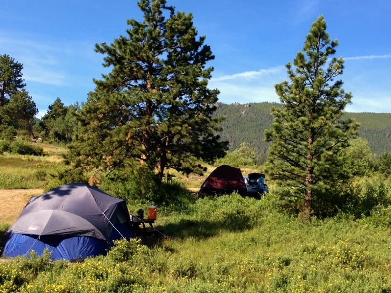 Photos For Estes Park Campground At Marys Lake