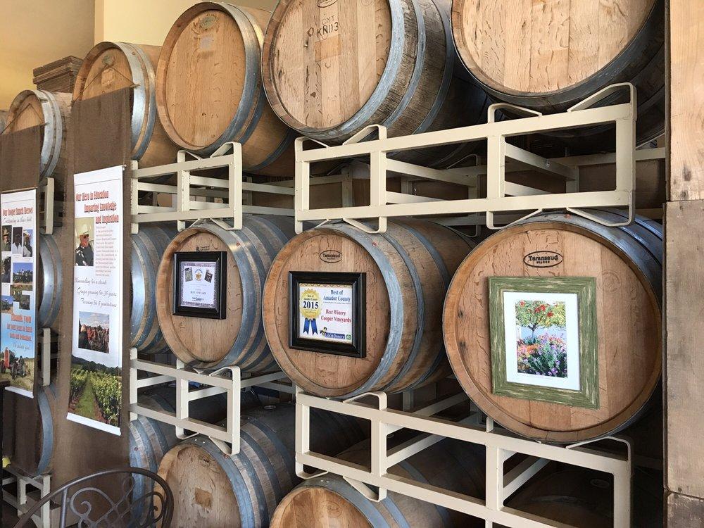 Cooper Vineyards: 21365 Shenandoah School Rd, Plymouth, CA