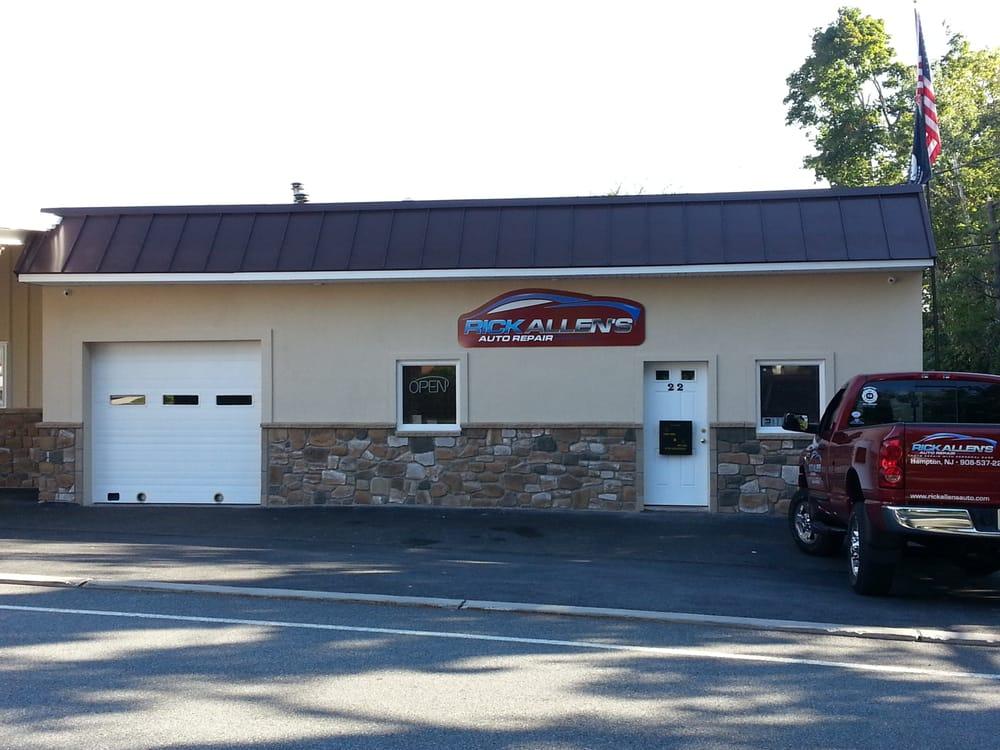 Rick Allen's Auto Repair: 22 Main St, Hampton, NJ