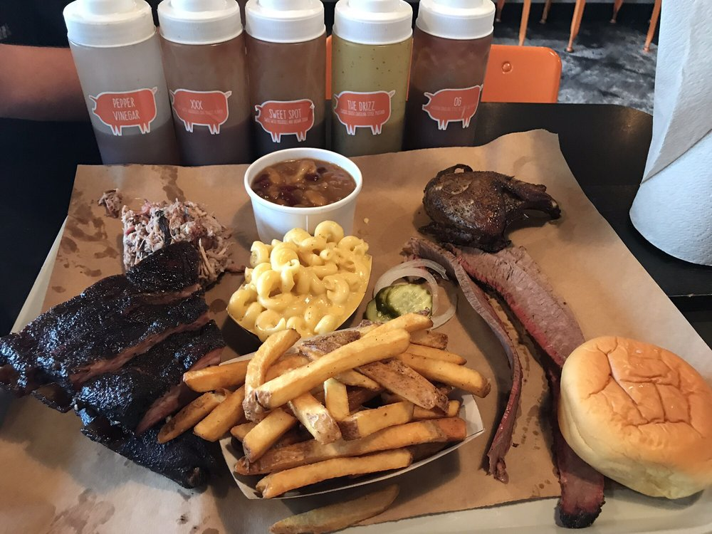 Food from The Bearded Pig