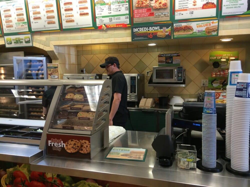 Subway Restaurants Newport Beach Ca