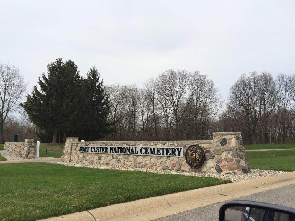 Fort Custer National Cemetery: 15501 Dickman Rd, Augusta, MI