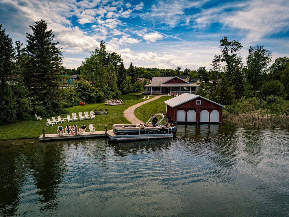 Boathouse Vineyards: 115 St Mary's St, Leelanau, MI