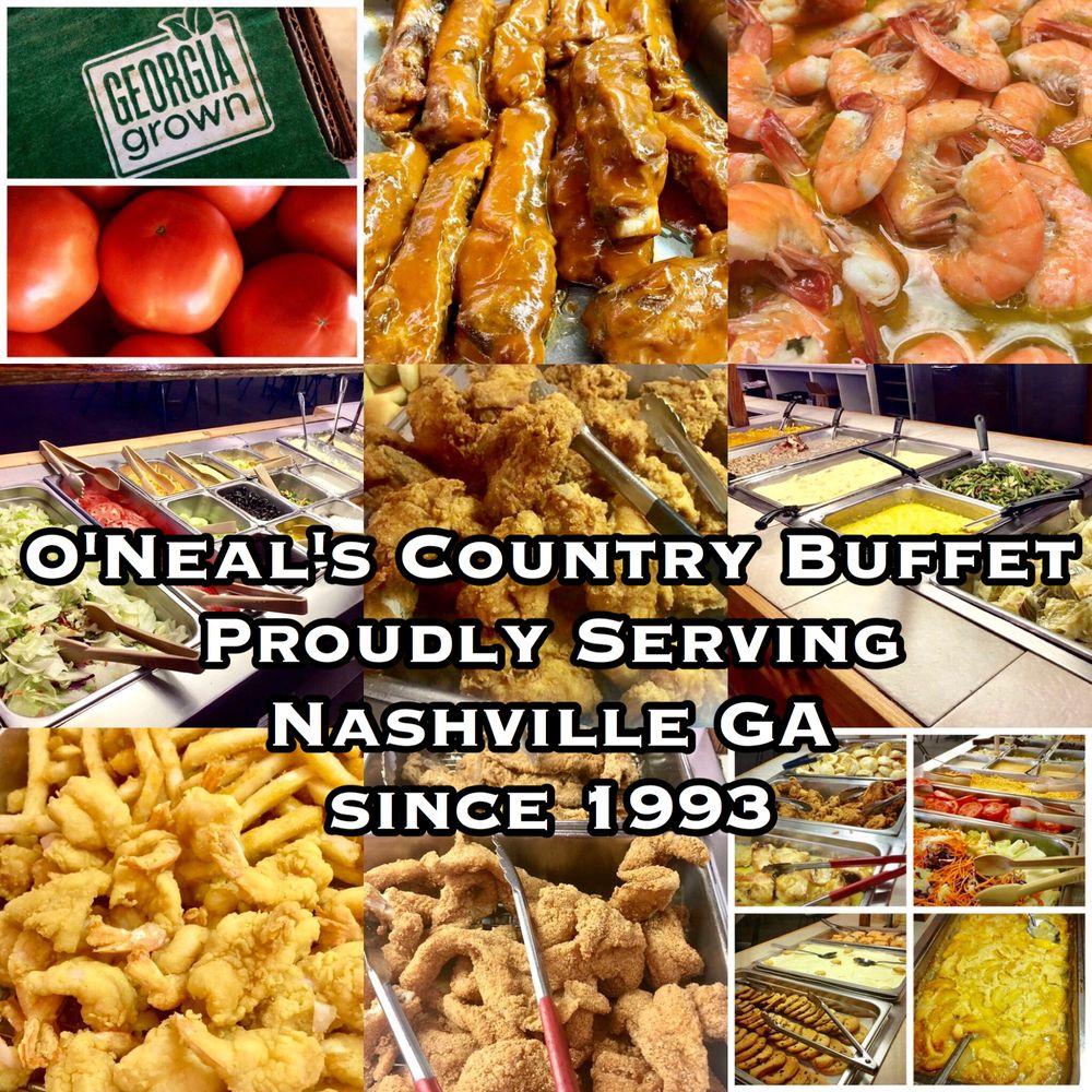 O'neal's Country Buffet: 201 E McPherson Ave, Nashville, GA